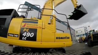 Komatsu Pc490 Lc Excavator-Kaivinkone-łopata
