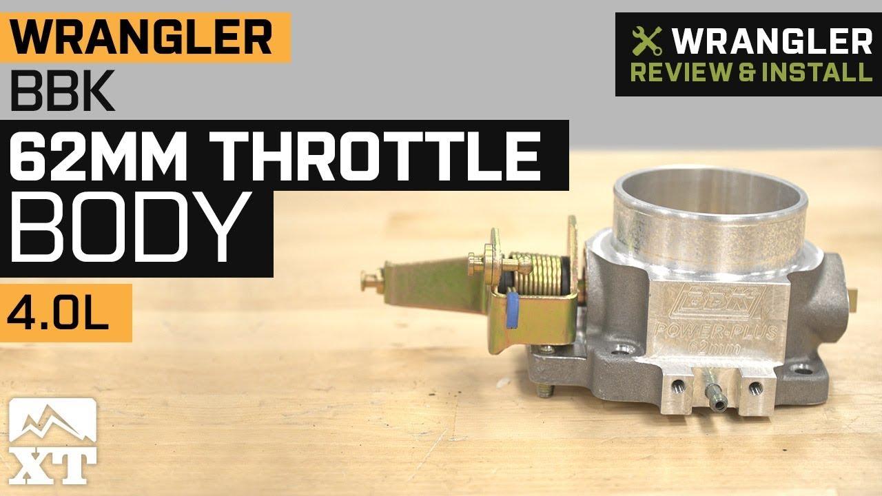 BBK 62mm Throttle Body (91-03 4 0L Jeep Wrangler YJ & TJ)