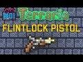 STEINSCHLOSS PISTOLE Tutorial | Terraria Flintlock Pistol