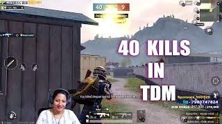 40 KILLS IN TDM MATCH - 1 VS 4