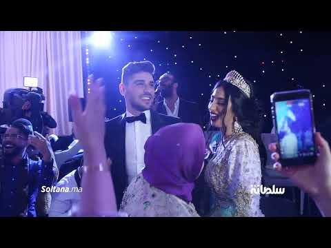 ماريا نديم وزوجها كاظم يلهبان حفل زفافهما الأسطوري رفقة مولين والراقصة نور