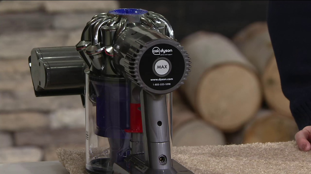 Image of: Brush Dyson V6 Trigger Animal Handheld Vacuum With Tool Attachments On Qvc Youtube Dyson V6 Trigger Animal Handheld Vacuum With Tool Attachments On