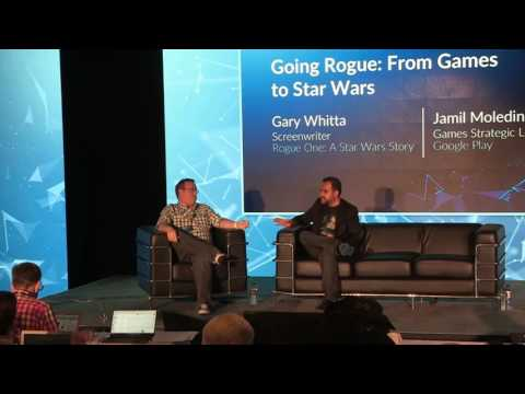 GamesBeat Summit 2017: Gary Whitta on going rogue from games to Star Wars