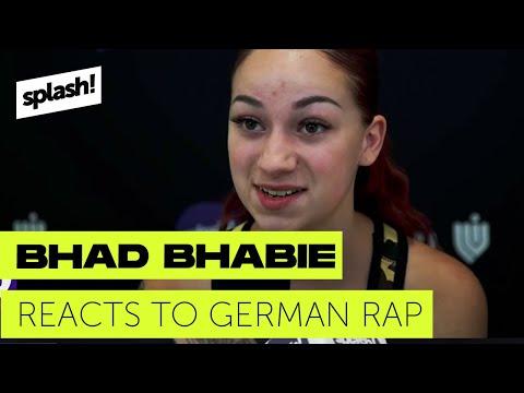 Bhad Bhabie reacts to German Rap  Bhad Bhabie reagiert auf Deutschrap