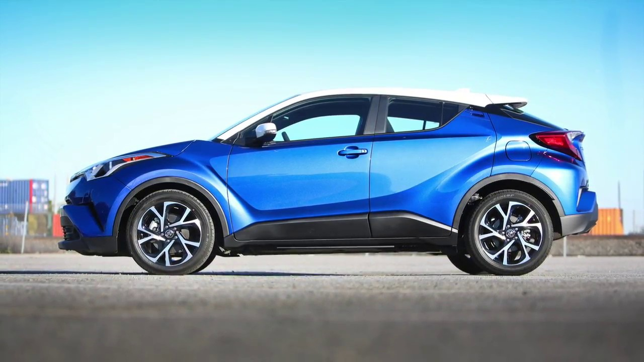 2019 Toyota Chr >> 2018 Toyota C-HR in Blue Eclipse Metallic R-Code | Steve Landers Toyota NWA - YouTube