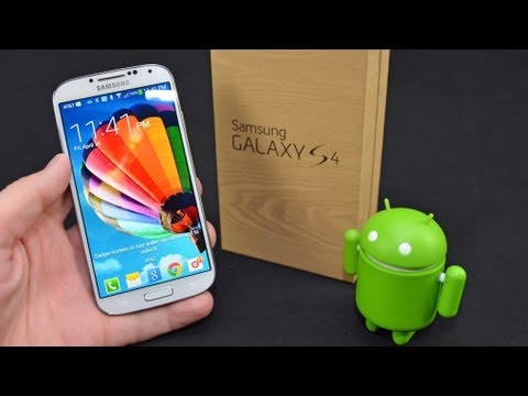 Samsung Galaxy S4: Unboxing & Review
