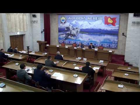 Отун-энергетикалык комплекси жана жер казынасын пайдалануу боюнча комитетининин жыйыны
