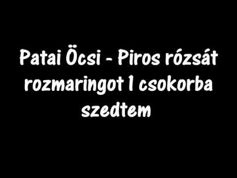 Patai Öcsi - Magazine cover