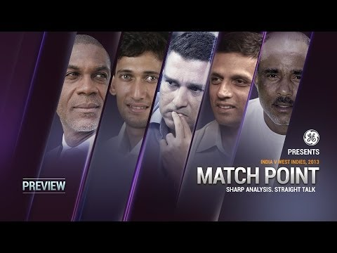 Match Point - Ind v WI, 2nd Test, Day 3, Pre Game