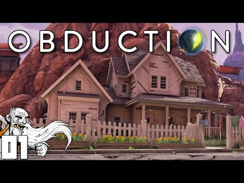 """Obduction Gameplay - """"HELLO!?! ANYONE HOME?!?"""" Ep01 - Let's Play Walkthrough"""