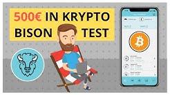 500€ in Kryptowährungen investieren - Bison APP Test: Kommt jetzt der Bitcoin Boom?