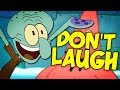 MORE SPONGEBOB!! Try not to Laugh Challenge - Spongebob SquarePants Edition