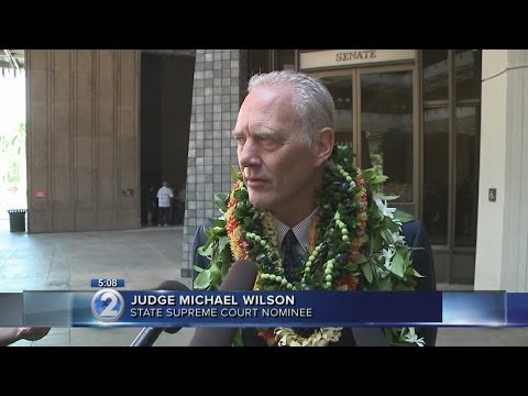 Senate confirms Wilson to Hawaii Supreme Court