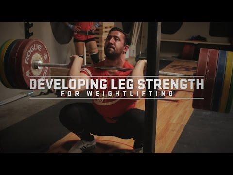Developing Leg Strength for Weightlifting | JTSstrength.com