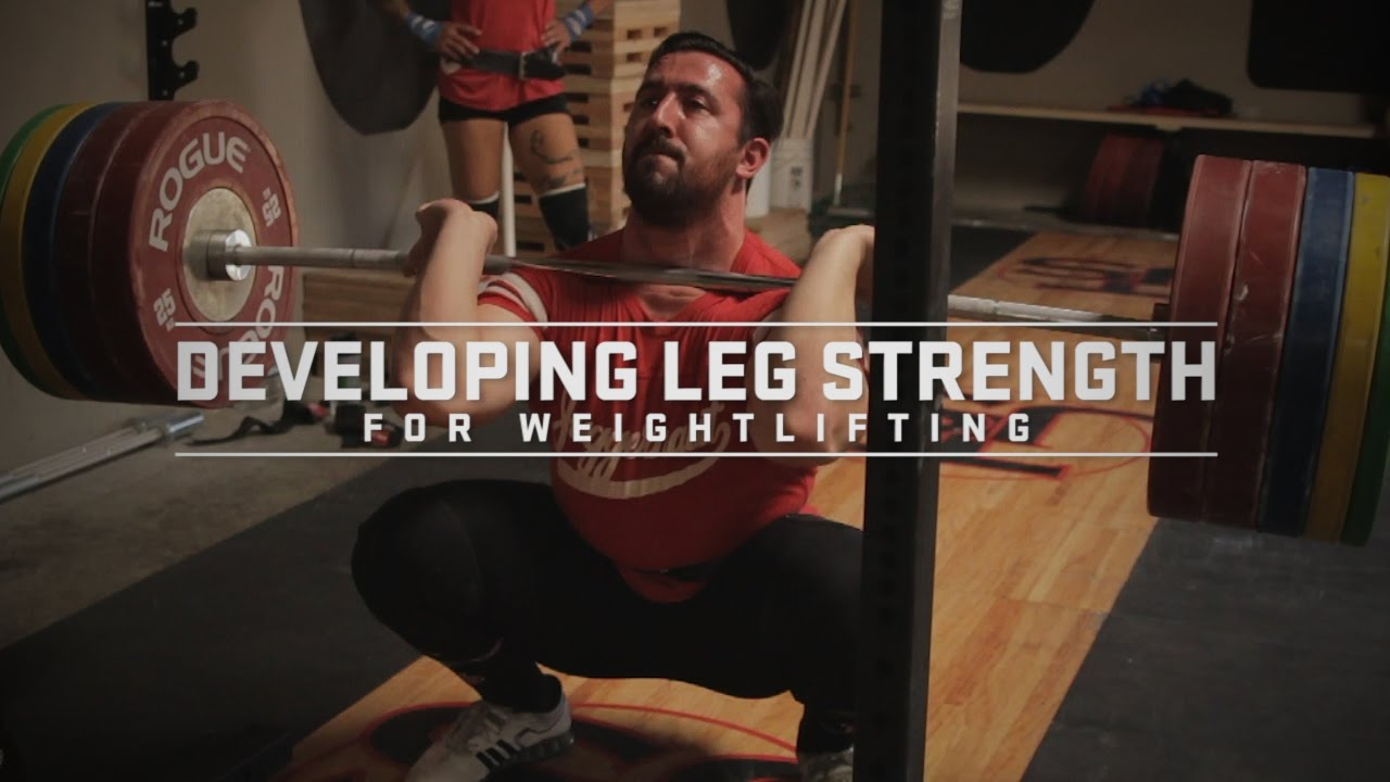 50cf9a651ec973 Developing Leg Strength for Weightlifting