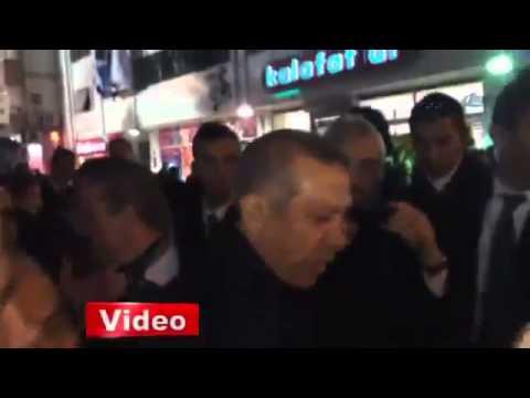 Erdoğan'dan genç kıza  Ben ağlarım sen ağlama