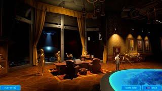 Updated Fortnite Agent Midas Room Showcase & Trailer (Midas Golden Black Knight)
