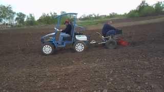 Мини-трактор из мотоблока нева. Оребургская версия.