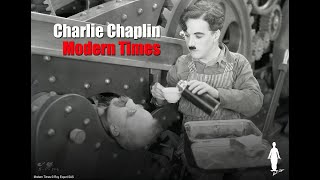 Charlie Chaplin - The Mechanic's Assistant - Scene from Modern Times