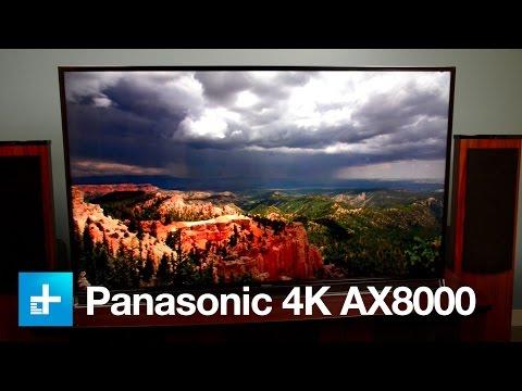Panasonic AX800 Ultra HD 4K television - First look