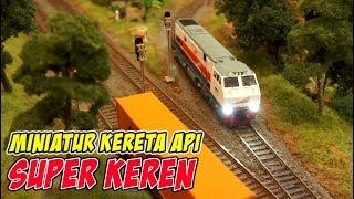 Kereta Apinya Bisa Maju Mundur | Mainan Miniatur Kereta Api Indonesia