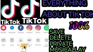 HOW TO MAKE VIDEO ON TIK TOK APP HOW TO DOWNLOAD AND DELETE ^^^100%----WORKING BEST INFORMATION