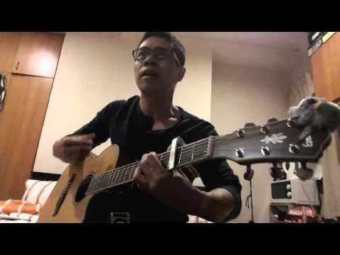 Adam Ahmad - Kau Pergi Jua (Acoustic Cover)