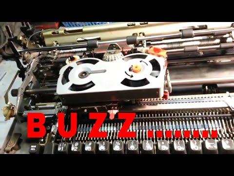 IBM Selectric Typewriter Buzz Noise Repair