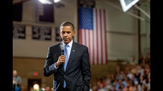 From candidate to president: Obama's call of history