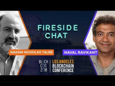 #BLOCKCON - Day 2 (Oct 11) - Fireside Chat: Nassim Nicholas Taleb & Naval Ravikant