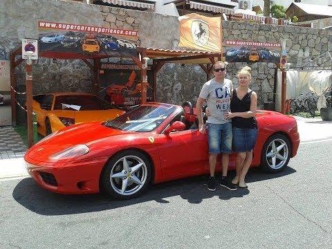 Ferrari 360 Spider F1 drive Puerto Rico Canaria