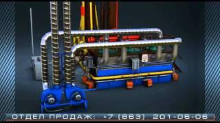 Пиротекс: утилизация РТИ и пластмассы / пиролиз(, 2012-01-08T11:40:44.000Z)
