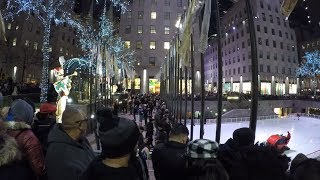 Video ⁴ᴷ Walking Tour of Rockefeller Center, NYC during the Holidays 2017 download MP3, 3GP, MP4, WEBM, AVI, FLV Agustus 2018