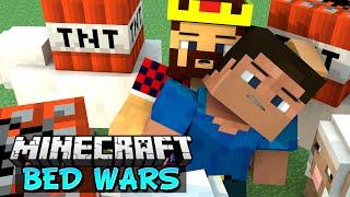 ПОДРЫВАЕМСЯ С ВРАГАМИ - Minecraft Bed Wars (Mini-Game)