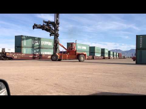 China Shipping containers at Port of Tucson