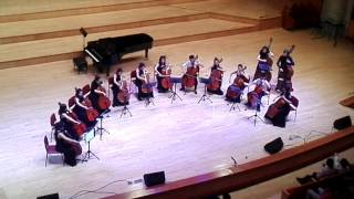 Tốp cello học sinh sinh viên trường HỌC VIỆN ÂM NHẠC QGVN