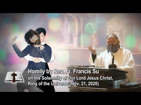 """Jesus who appeared as Francisco to Julia"" Homily by Rev. Fr. Francis Su in Naju Shrine, S. Korea"