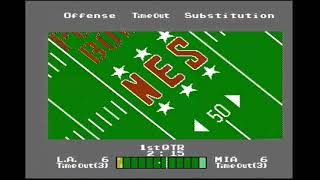 NES Play Action Football (NES) Playthrough [Part 1/4]
