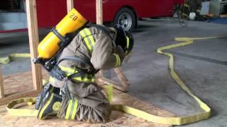 Formation auto-sauvetage, pompiers de St-Maurice