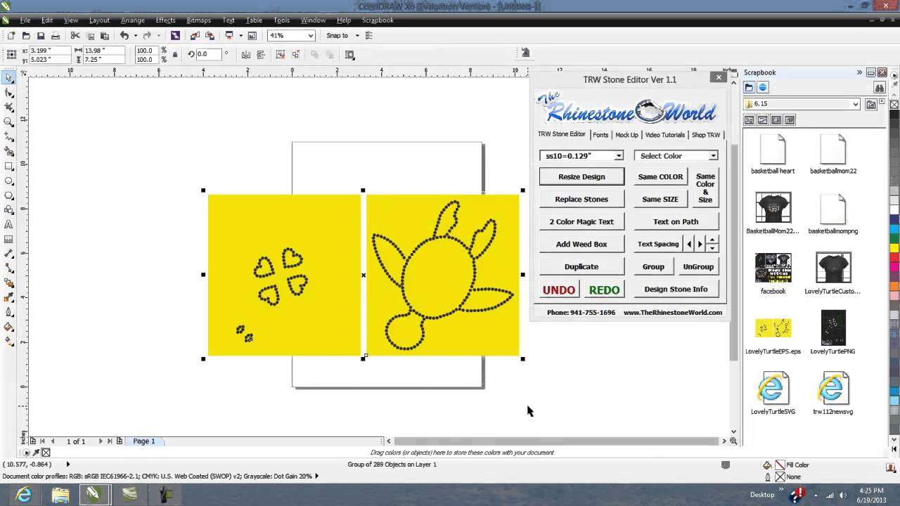 Corel draw clipart images - Cool Corel Draw X5 X6 Clipart Docker For The Trw Stone Wizard Rhinestone Program