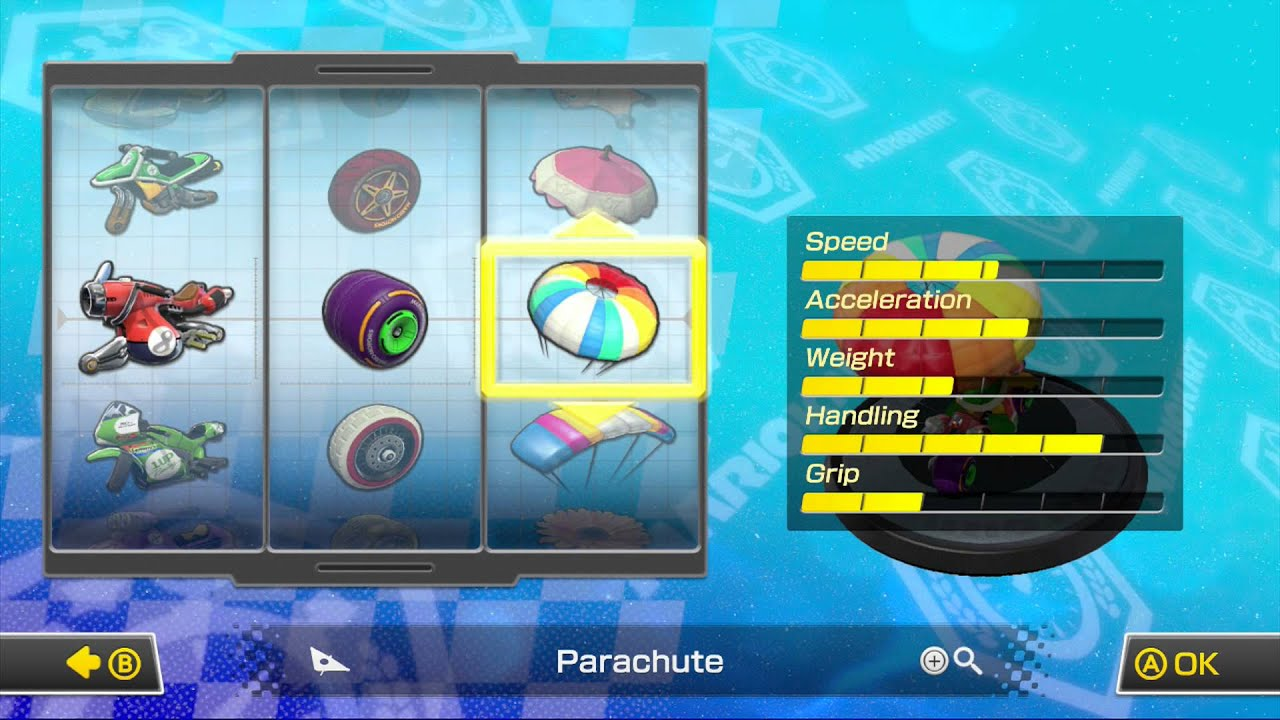 Mario Kart 8 Character Kart Combinations I Use For Online 1080
