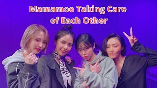 Mamamoo Taking Care of Each Other