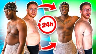 SIDEMEN MOST WEIGHT LOST IN 24 HOURS CHALLENGE