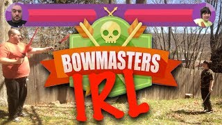 BowMasters IOS & IRL - In Real Life!!