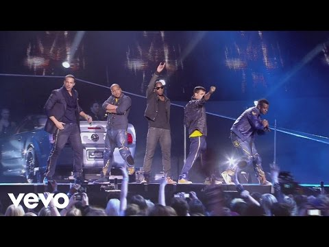 JLS - Eyes Wide Shut (Live at the 02) ft. Tinie Tempah