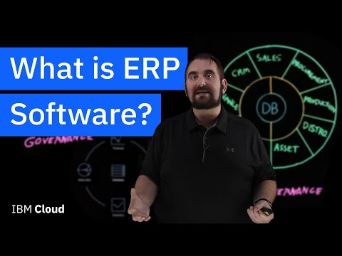 What is Enterprise Resource Planning (ERP) Software?