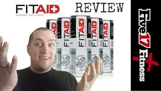 Zapętlaj How to Aid Your Fitness? FitAID Review - @FitAID | Tyler Inloes