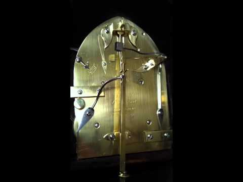 Antique Clock Video - 19th Century Table Clock by Grant.