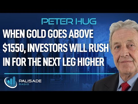 Peter Hug: When Gold Goes Above $1550, Investors Will Rush in for the Next Leg Higher