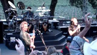 Journey live at the Br Cohn Winery Charity Concert